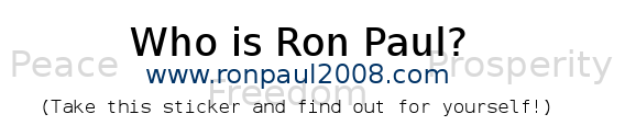 who is ron paul label
